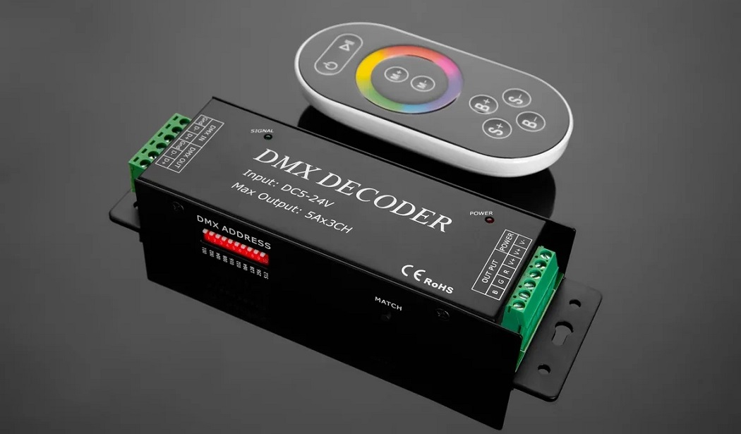 dmx decoder - Каталог архитектурного и ландшафтного освещения