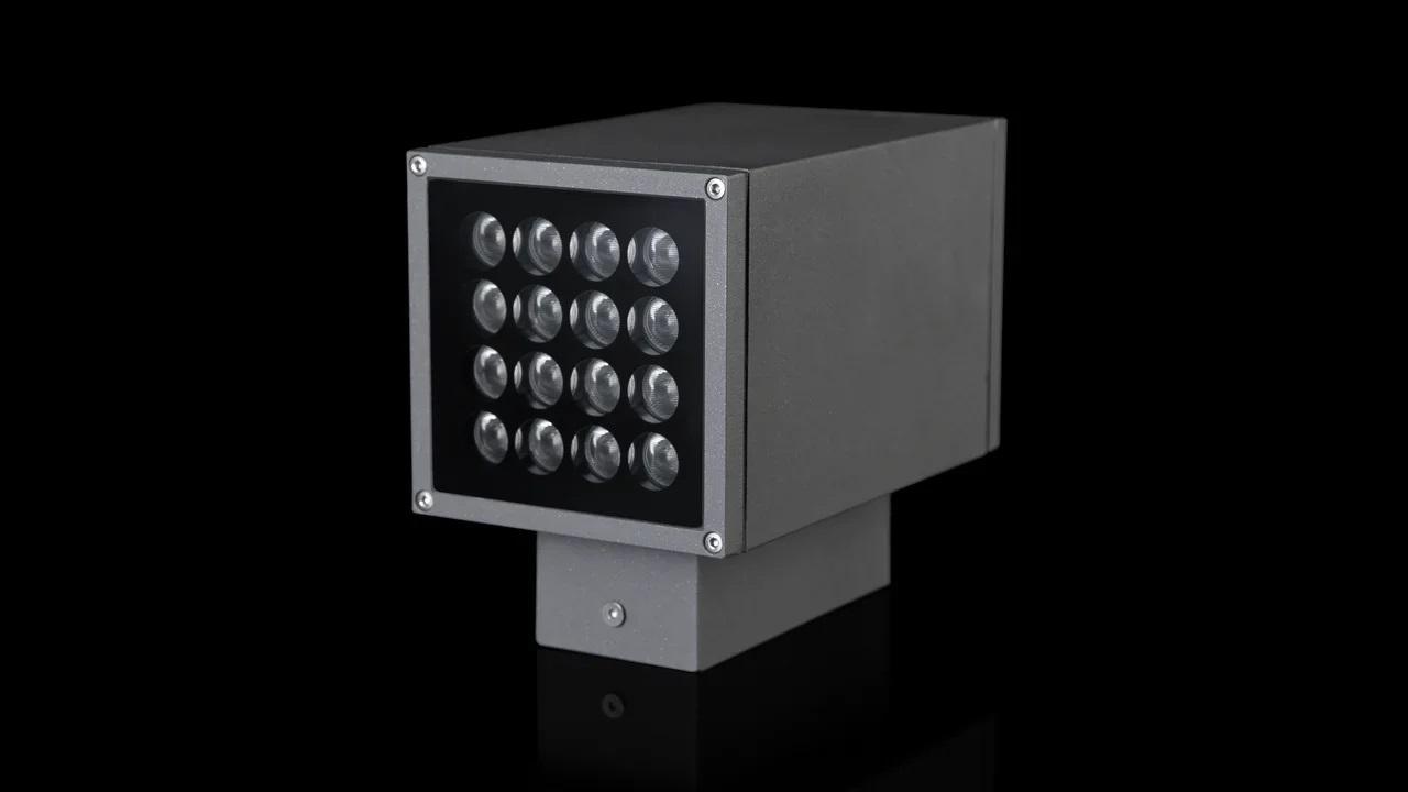 Также использованы точечные фасадные светильники Гранит145 (односторонние и двухсторонние) и Гранит 95 (двухсторонние)