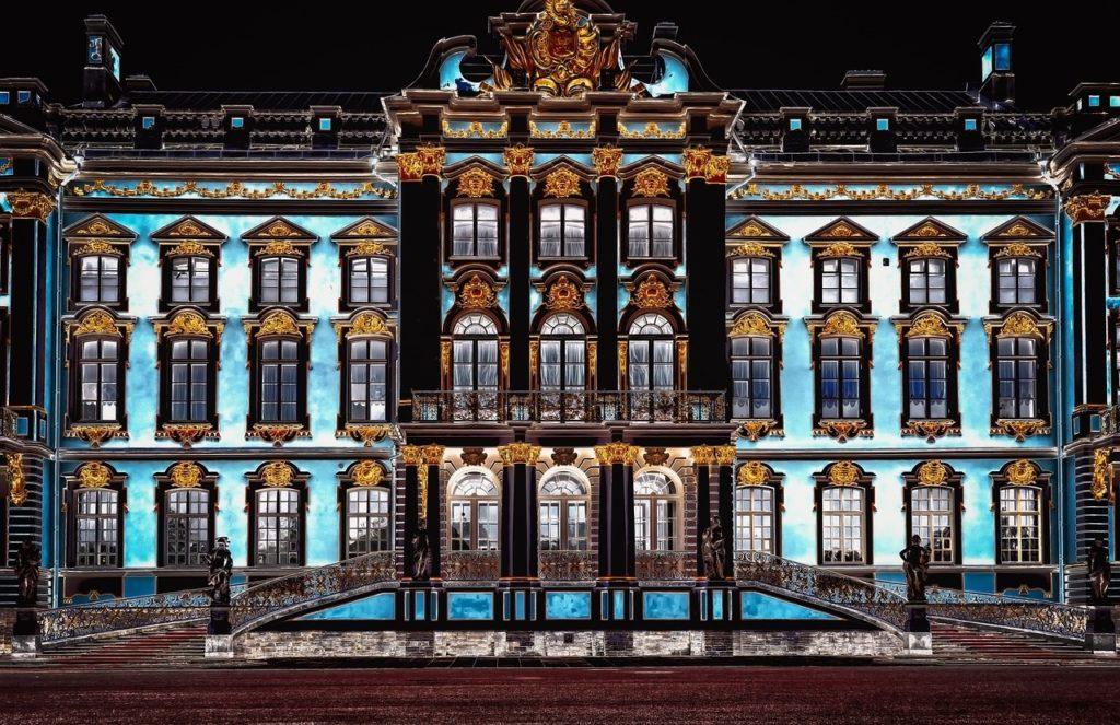 catherines palace 3728314 1280 1024x663 - Декоративное освещение зданий