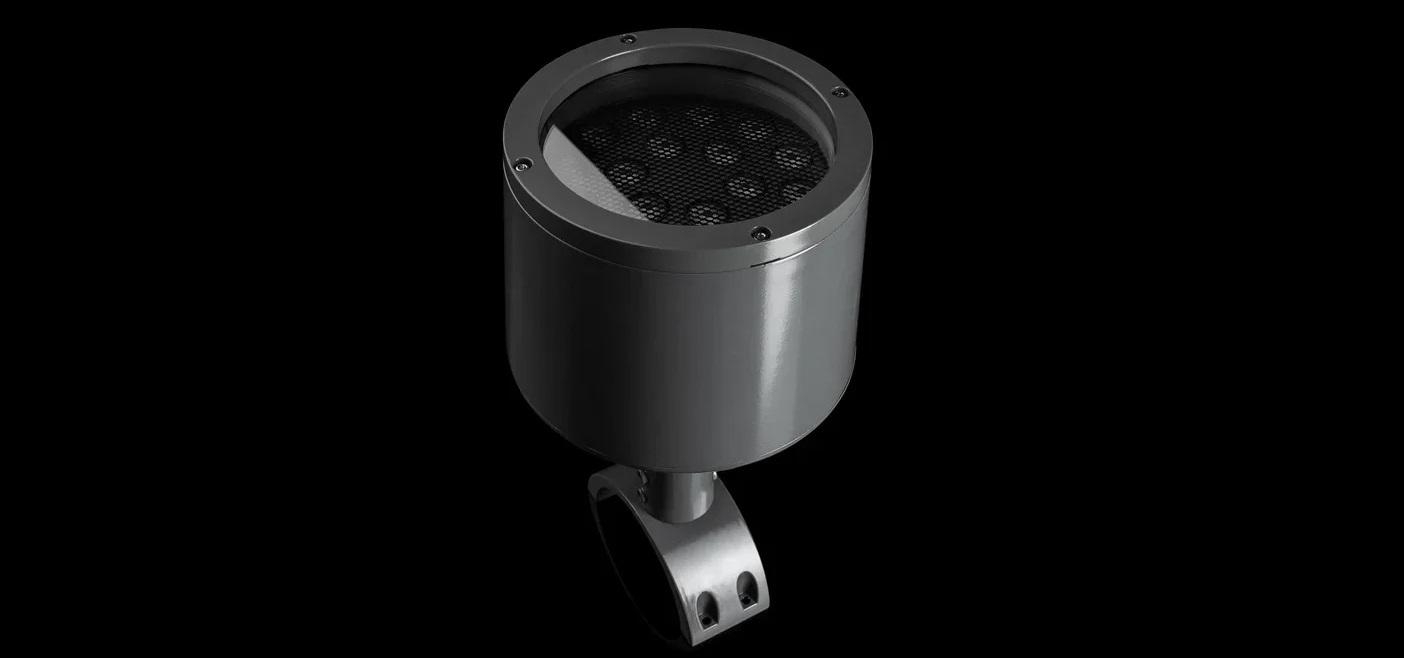 В проекте использованы точечные RGBW-светильники «Тюльпан»