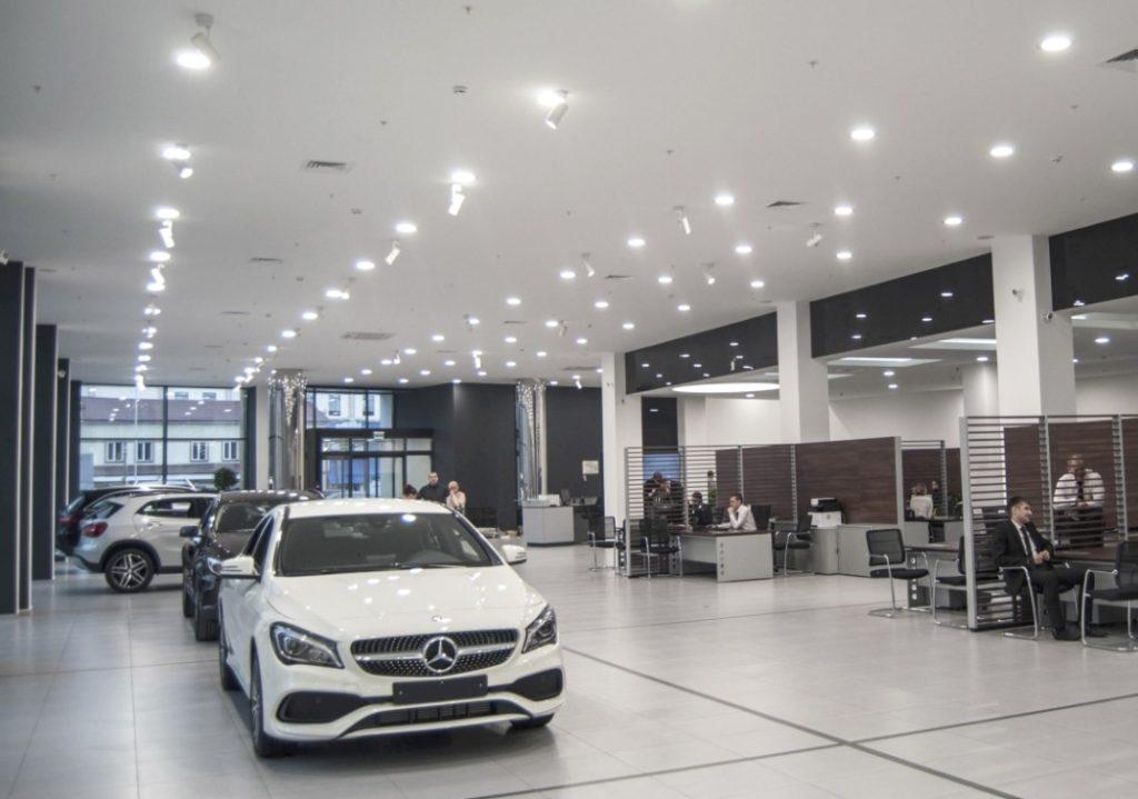 2 1 1024x719 - Освещение автосалонов и магазинов автозапчастей